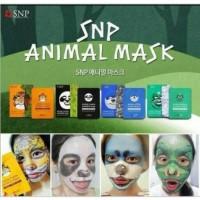 New SNP Animal Face Mask / Masker Wajah Gambar SNP