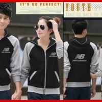 Teraris [ Cp Jkt NB Hitam CL] pakaian couple jaket warna hitam8