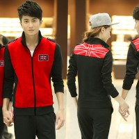 Teraris [ CP JKT RED KINGDOM CL ] PAKAIAN COUPLE JAKET MERAH Jaket