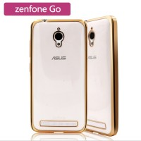 Softcase with Plating Asus Zenfone Go 5 Inc / ZC500TG / Backcover
