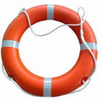 Pelampung fiber Ringbouy untuk keselamatan di laut atau kolam renang