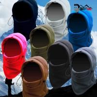 Masker Balaclava Ninja Full Face Polar Polos Outdoor Keren Multifungsi