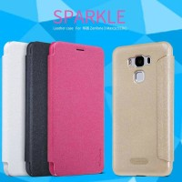 flipcase nillkin sparkle leather case Asus Zenfone 3 max 5.5 ZC553KL