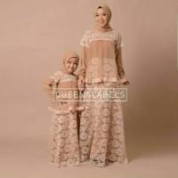 Gamis / Setelan Couple Wanita Muslim Ibu Anak Syari