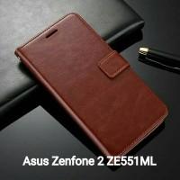 Flip Cover Asus Zenfone 2 ZE551ML Wallet Leather Case