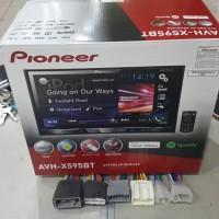 Head unit pioneer avh X595bt gratis soket oem PNP mobil #audio mobi