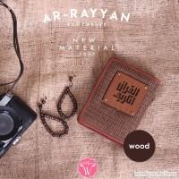 Al Quran Ar Rayyan Exclusive Wood Bonus Tasbih Kayu