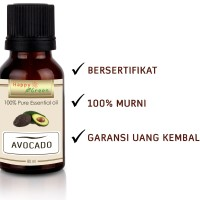 HAPPY GREEN 100% PURE Avocado Oil - Minyak Alpukat Cosmetic Grade 80mL