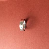 Cincin Emas Putih/White Gold Ring, 18k, 1G, ukr no 10.