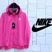 Jaket Nike Pink Parasut