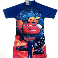 Baju Renang Anak Laki TK Cars Speed - Pakaian/Swimsuit