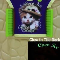 Kaos / Baju Anak Glow In The Dark Coco Ice Ungu