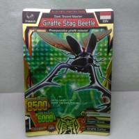 Kartu Animal Kaiser S5 Giraffe Stag Beetle