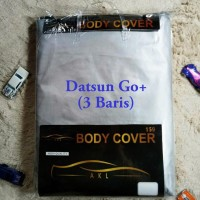 Datsun Go+ 3 Baris Silver Coating Body Cover Mobil/Sarung Mobil