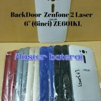 Back Cover Asus ZenFone 2 Laser 6.0 2Laser / ZE601KL Casing BackDoor