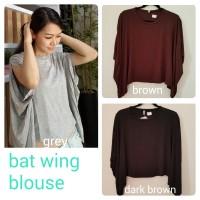 Te_daisy bat wing /baju kalong / atasan / kaos/ supplier baju/korean