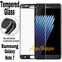 TEMPERED GLASS Anti Gores CURVED 9H Samsung Galaxy Note 7