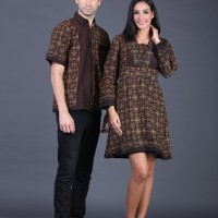 Baju Couple Formal / Baju Pasangan Undangan / Baju Batik Couple Gf