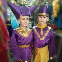 pakaian baju adat sumatra barat sumbar padang minang tk