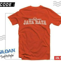 Kaos Baju Bola Desain Persija Jakarta Jaya Raya