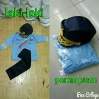 Baju Karnaval anak / Setelan Karnaval Anak TNI PILOT POLISI