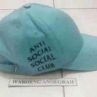 Topi Baseball Anti Social Social Club Tosca