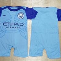 Baju Bola Bayi Anak / Baby Jumper Manchester City Home 16/17