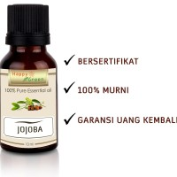 Jojoba Oil Cosmetic Grade 10 mL- 100% Murni Minyak Jojoba HAPPY GREEN
