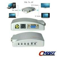 Video Converter VGA to RCA / Video / S Video - CON-VGFSVF1RCAF