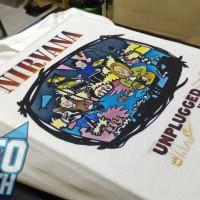 Kaos Band Grunge Rock Legend Nirvana Unplugged In New York - NIRV38