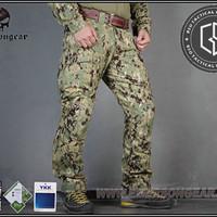 Celana Cargo Tactical Kneepad Emerson AOR 2 Assault Combat Pants Ori