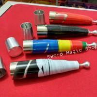 Sulap Metal Vanishing Cane Pro - Alat Sulap - Sulap Tongkat