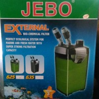 External filter aquarium aquascape Jebo 625