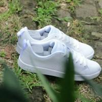 JAMINAN TERMURAH Sepatu ADIDAS NEO ADVANTAGE FULL WHITE ORIGINAL
