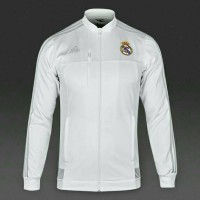 Jaket Bola Grade ORI Real Madrid Anthem White Official