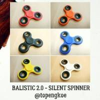 fidget hand spinner balistic 2.0 sileng spinner - hardcore trick