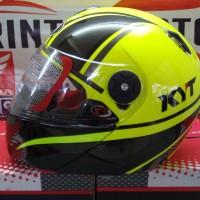Helm KYT x ROCKET World Class Helmet Yellow