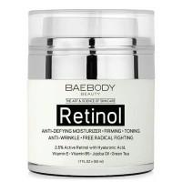 Baebody Retinol Moisturizer. anti kerut, anti aging, kulit kencang
