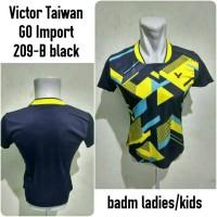 baju badminton cewek yellow