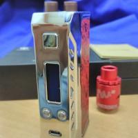 Vape, Vaporizer, Rokok Elektrik, MOD, Finder 167, Automizer TM2 Authen