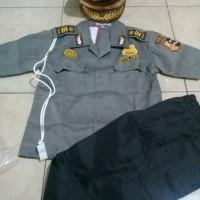 Seragam Anak Jendral Polisi Laki-Laki (Polki) ukuran 2-4|Baju Karnaval