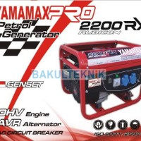 Mesin Generator Atau Genset 1000 Watt 4 Tak Yamamax 2200 RX Rubicon