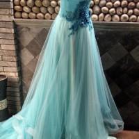Long Dress Pesta Gaun Bridal / Gaun Pernikahan Modern / Baju Wanita