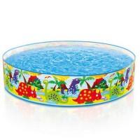 Kolam Renang Anak tanpa Pompa Dino Snapset Pool INTEX 58474