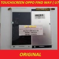 LCD + TOUCH OPPO FIND WAY (U7015) WHITE ORI 901920