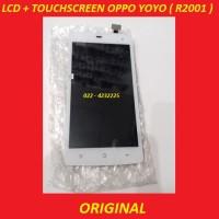 LCD + TOUCHSCREEN OPPO YOYO (R2001)  WHITE ORI 902906