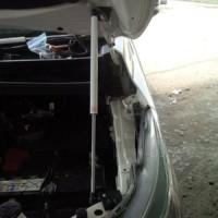 Aksesoris Shockbecker Skok Kap Mesin Hood damper New Pajero Sport 16+