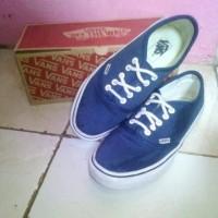 Sepatu casual Vans autentic biru dongker original!!!
