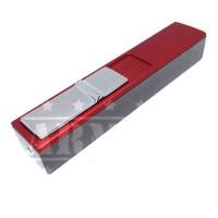 Aomai Korek Api Matches Elektrik Lighter Classic USB Anti Angin- Merah