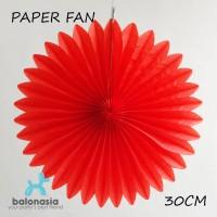 Balonasia Dekorasi Pesta Paper Fan 30 CM